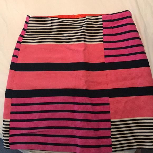 Multi-Pink Mini Skirt